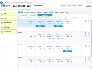 ESS Calendar