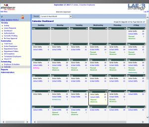 AOD Schedule